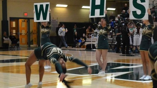 basketball cheer