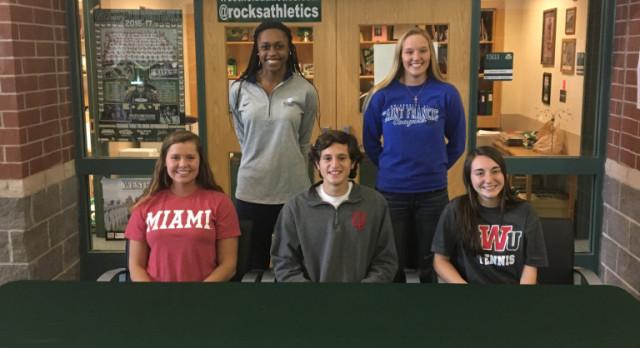 5 Rocks Commit to Collegiate Athletics