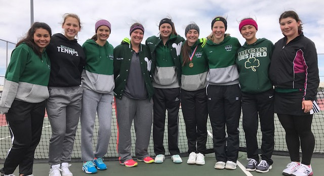 Westfield Girls Varsity Tennis finishes 2nd place