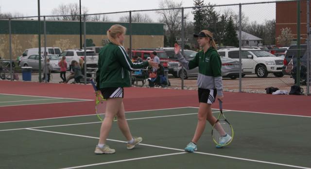 Westfield JV Tennis falls to Zionsville 7-4