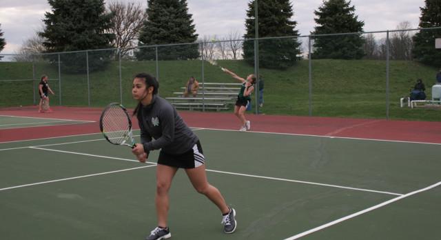 Westfield Girls Varsity Tennis falls to Harrison 3-2