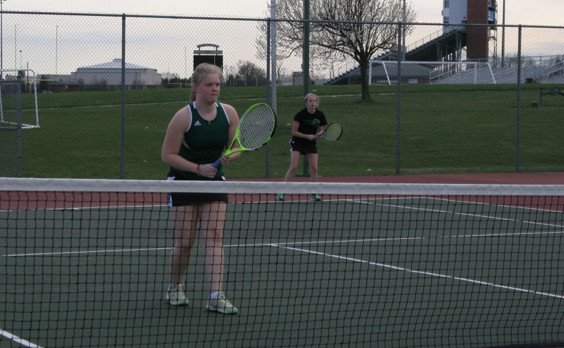 Westfield JV Tennis finishes 4th place