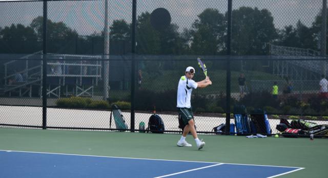 Westfield High School Boys Varsity Tennis falls to Hamilton Southeastern High School 3-2