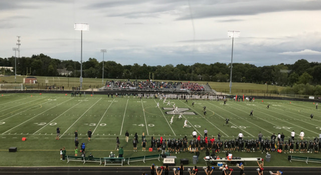 Westfield High School Varsity Football beat Zionsville High School 28-21