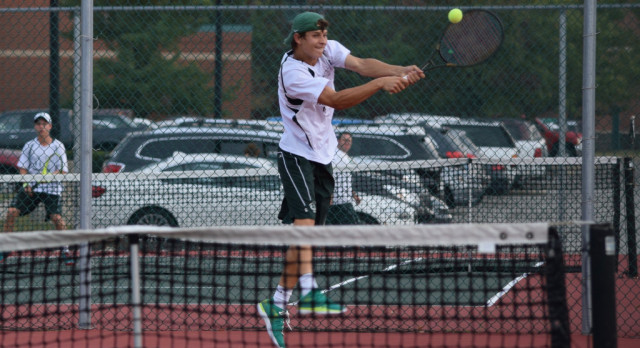 Boys  Tennis falls to Guerin  4-1 in Sectionals