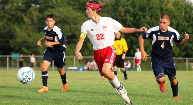Rossville soccer falls to North Montgomery