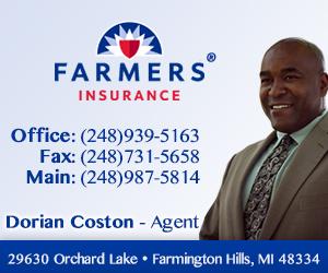 Dorian Coston Farmers Insurance - Gold size