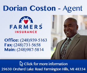 Dorian Coston Farmers Insurance - Gold size