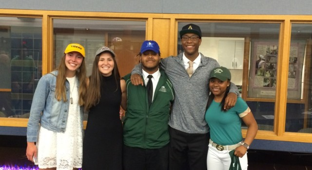 Five More Lakers Sign NLI