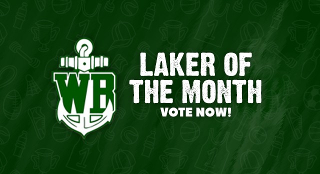"""Vote for Your January """"Laker Athlete of the Month"""""""