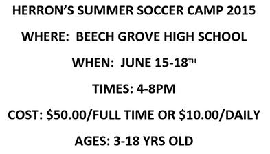 Herron's Summer Soccer Camp