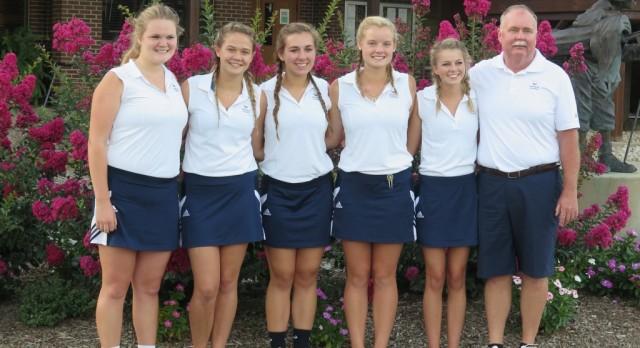 OA Girls Golf Senior Night