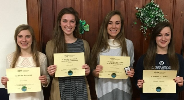 Academic Allstate Swimmers
