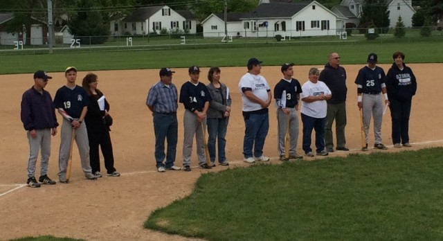 OA Baseball Senior Night