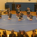 Varsity & Middle School Competitive Cheer at Plainwell Invitational 12/5/15