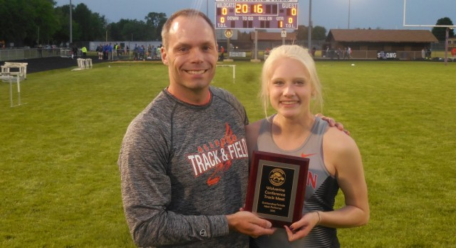 Girls Track: Isola named MVP at Conference Championship Meet