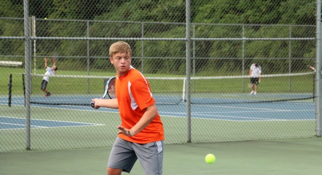 Boys Tennis: Tigers battle top level competition in Allegan Duals