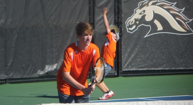 Boys Tennis State Finals: Tigers 6th after Day 1; Babbitt & Hill reach semis