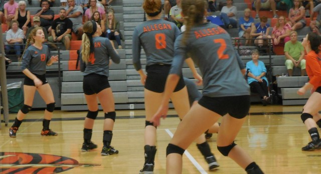 Volleyball: South Haven 3 Allegan 0