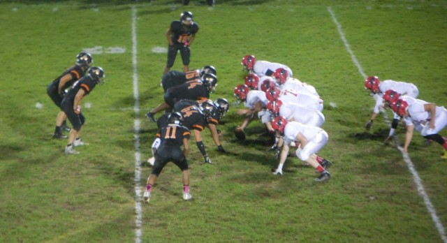 Football: Tigers fall to Paw Paw