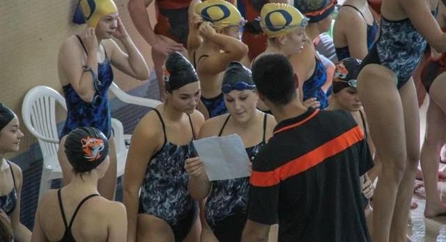 Girls Swimming: Tigers visit Marshall
