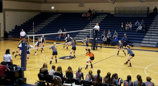Volleyball Districts: Otsego 3 Allegan 0