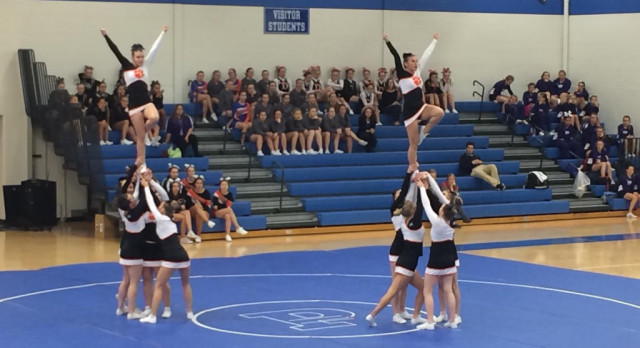 Competitive Cheer: Conference Jamboree at Plainwell