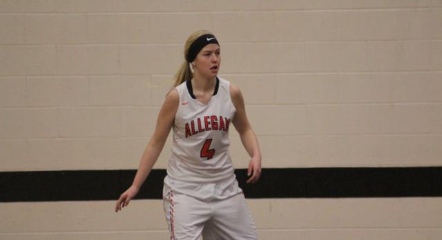 Girls Basketball: Allegan 39 South Haven 14