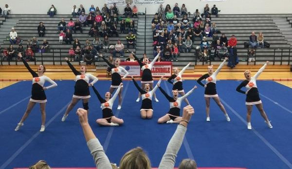 Competitive Cheer: Tigers first at Allendale Invite