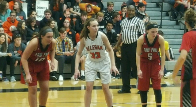 Girls Basketball: Allegan 52 Paw Paw 40