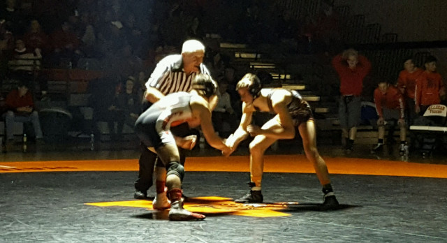 Wrestling: Tigers fall to Allendale in Regional Final