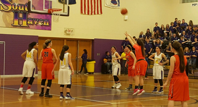 Girls Basketball: Allegan 41 South Haven 40