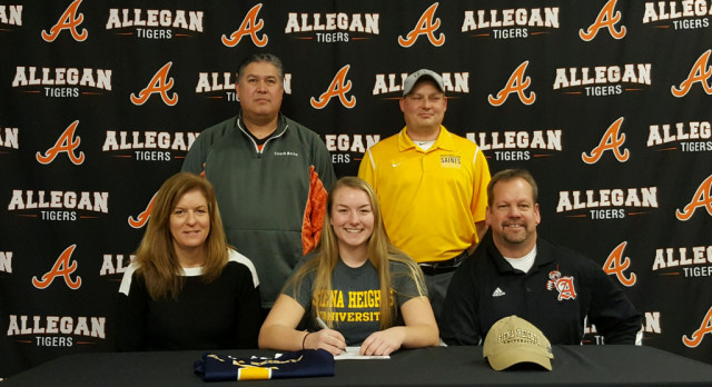 Girls Soccer: Bishop signs with Siena Heights