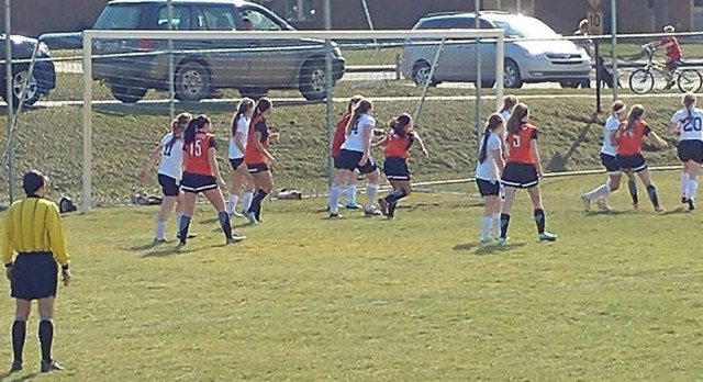 Girls Soccer: Tigers open season with 4-2 win at Hopkins