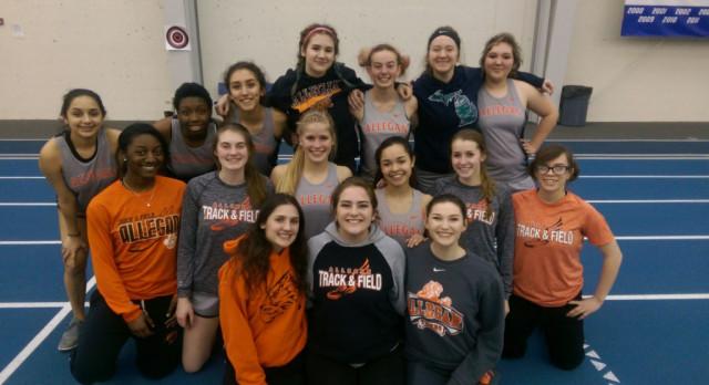 Girls Track & Field: GVSU Laker Challenge