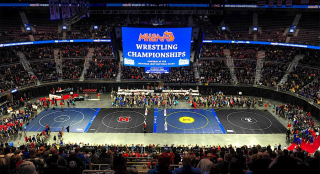 Wrestling State Finals: Beard state champion with 2-1 win in finals