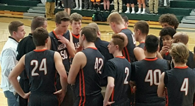 Boys Basketball District: Tigers fall to Wayland