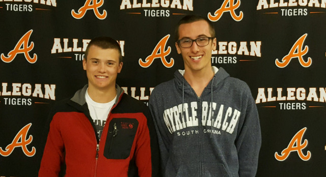 Boys Swim: Butcher & TerAvest selected Academic All-American
