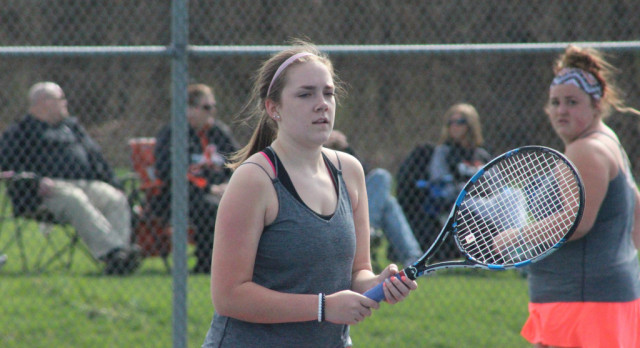 Girls Tennis: Tigers beat Spartans 7-1 in non-conference tilt