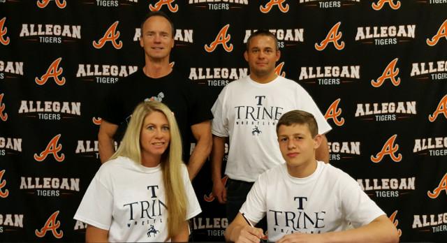 Wrestling: Schneider signs with Trine University