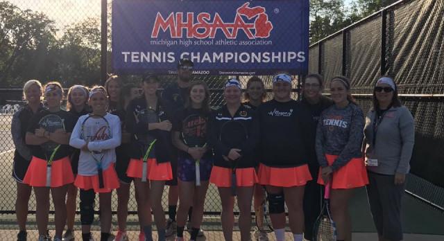 Girls Tennis: Tigers earn Division III All Academic Award