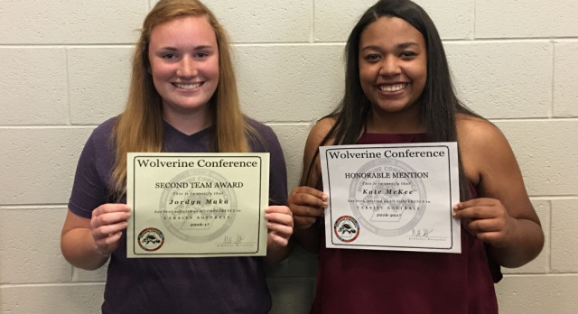 Softball: Maka & McKee selected All-Conference