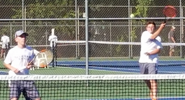 Allegan Continues to Play Solid Team Tennis