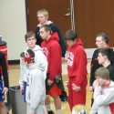 Wrestlers at Lebanon Sectional 2/14/14