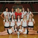 2015 Girls Volleyball Team & Senior