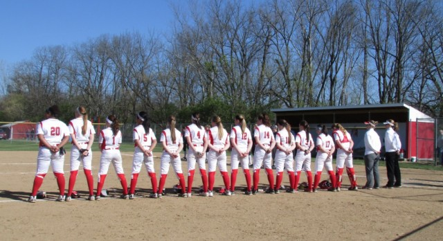 Softball continues to roll on a 6 game winning streak…