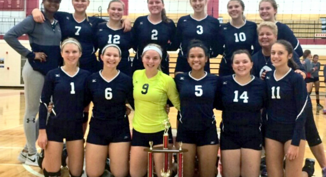 Volleyball Team Wins Goshen Invitational!