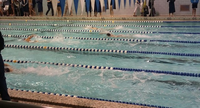 Boys Swimmers win City Meet