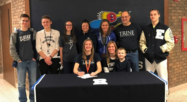 Dibley signs with Trine