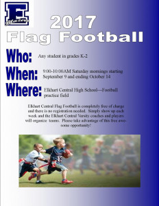Flag Football Flier